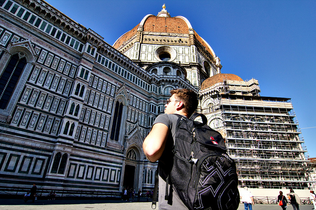 Exchange student in Florence